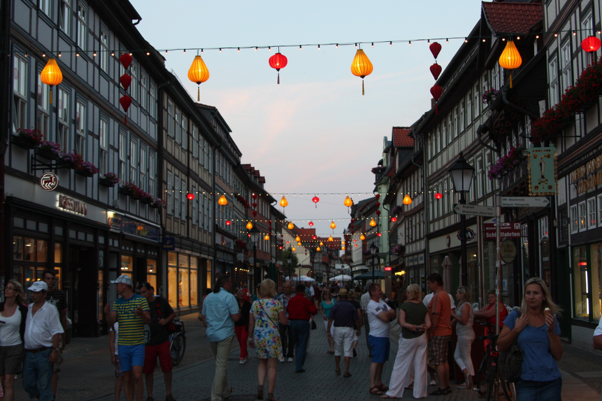 Hoi An lanterns will lit up Wernigerode.
