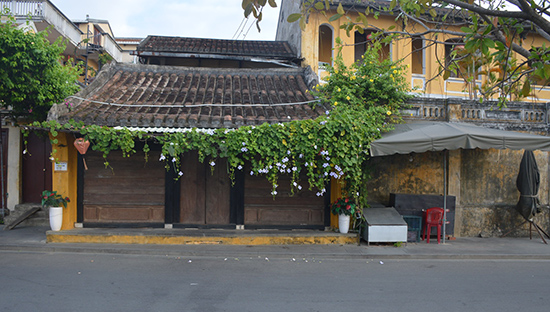 A corner of Hoi An in Quang Nam province, Vietnam