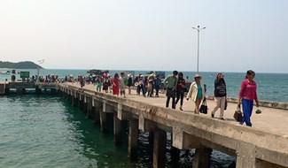 Cộng đồng Cù Lao Chàm hưởng lợi từ dự án. Ảnh: QUỐC HẢI