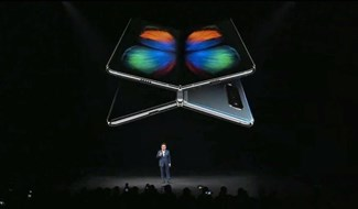 Hình minh họa cho Galaxy Fold.