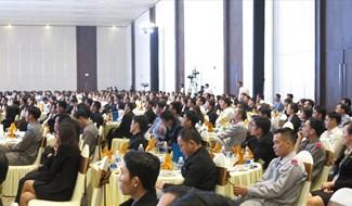 Ông Lê Trí Thanh phát biểu tại hội nghị
