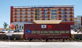Bệnh viện Đa khia Trung ương Quảng Nam- nơi đang thực hiện cách ly bệnh nhân nghi ngờ nhiễm Virut Corona