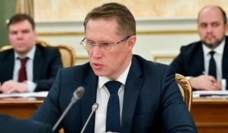 Bộ trưởng Y tế Nga. Ảnh: AP