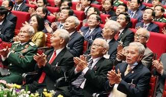 Sau khi Tổng Bí thư, Chủ tịch nước Nguyễn Phú Trọng trình bày Báo cáo của Ban Chấp hành Trung ương Đảng khóa XII và các văn kiện trình Đại hội XIII của Đảng, các đại biểu nghỉ giải lao trong 30 phút. Sau đó, Thường trực Ban Bí thư Trần Quốc Vượng trình bày báo cáo kiểm điểm sự lãnh đạo, chỉ đạo của Ban Chấp hành Trung ương khóa XII.